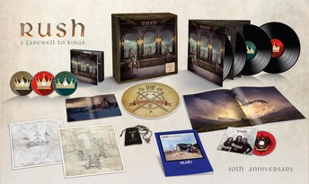 Rush - A Farewell To Kings - 40 Jahre Edition